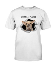 Chihuahua Six Feet People Classic T-Shirt thumbnail