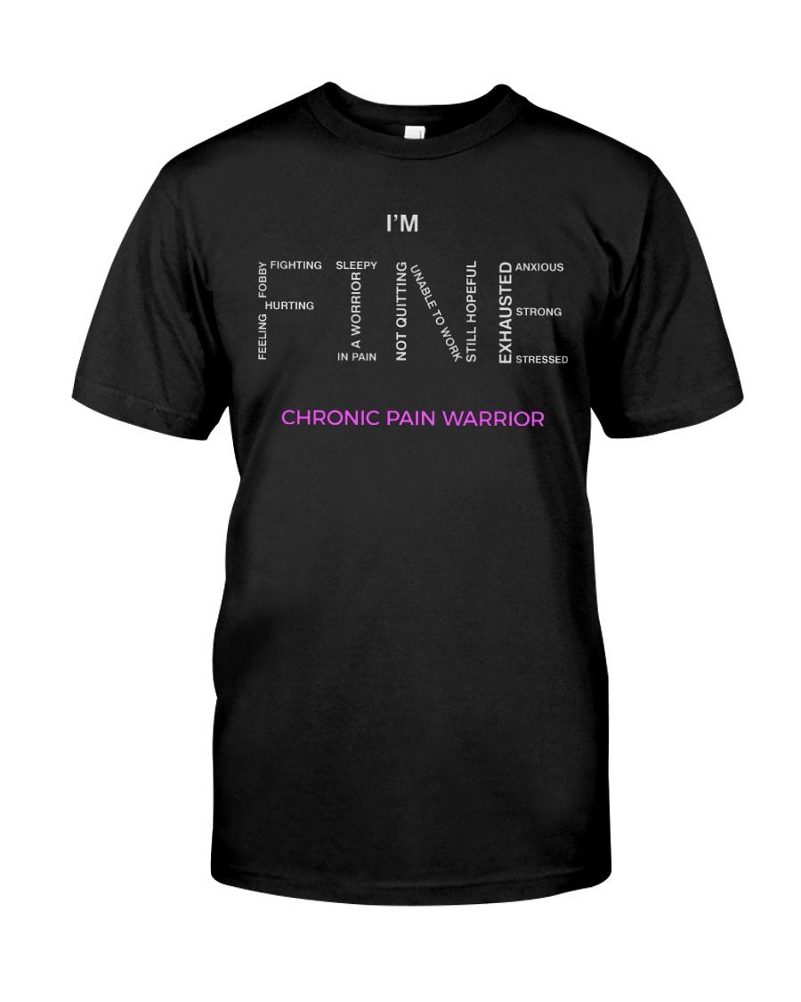 Chronic Pain Warrior Tshirt Classic T-Shirt