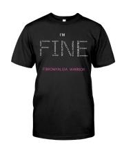 Fibromyalgia Warriors Tshirt Classic T-Shirt front