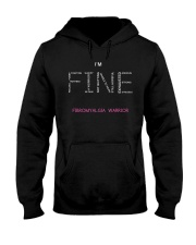 Fibromyalgia Warriors Tshirt Hooded Sweatshirt thumbnail