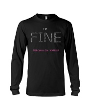Fibromyalgia Warriors Tshirt Long Sleeve Tee thumbnail