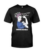 Rheumatoid Arthritis Support Tee Classic T-Shirt front