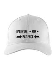 Hardwork and Patience Embroidered Hat thumbnail