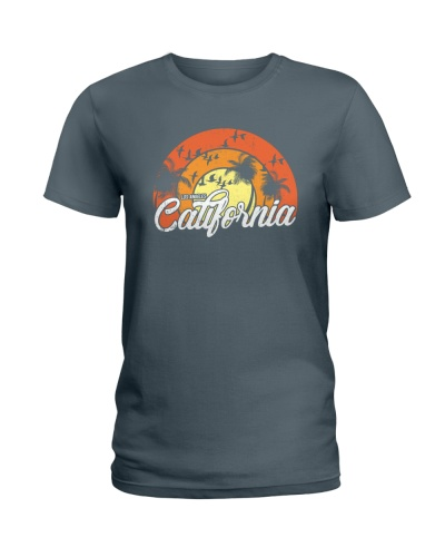 Los Angeles California Vintage design style shirt