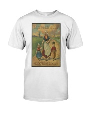 MIJN FAMILIE IS MIJN KRACHT EN MIJN ZWAKTE Classic T-Shirt tile