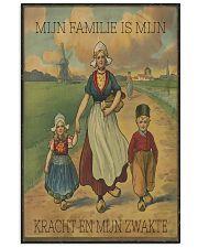 MIJN FAMILIE IS MIJN KRACHT EN MIJN ZWAKTE Vertical Poster tile