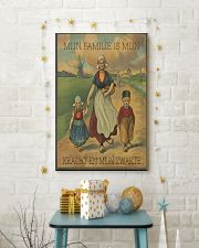 MIJN FAMILIE IS MIJN KRACHT EN MIJN ZWAKTE 16x24 Poster lifestyle-holiday-poster-3