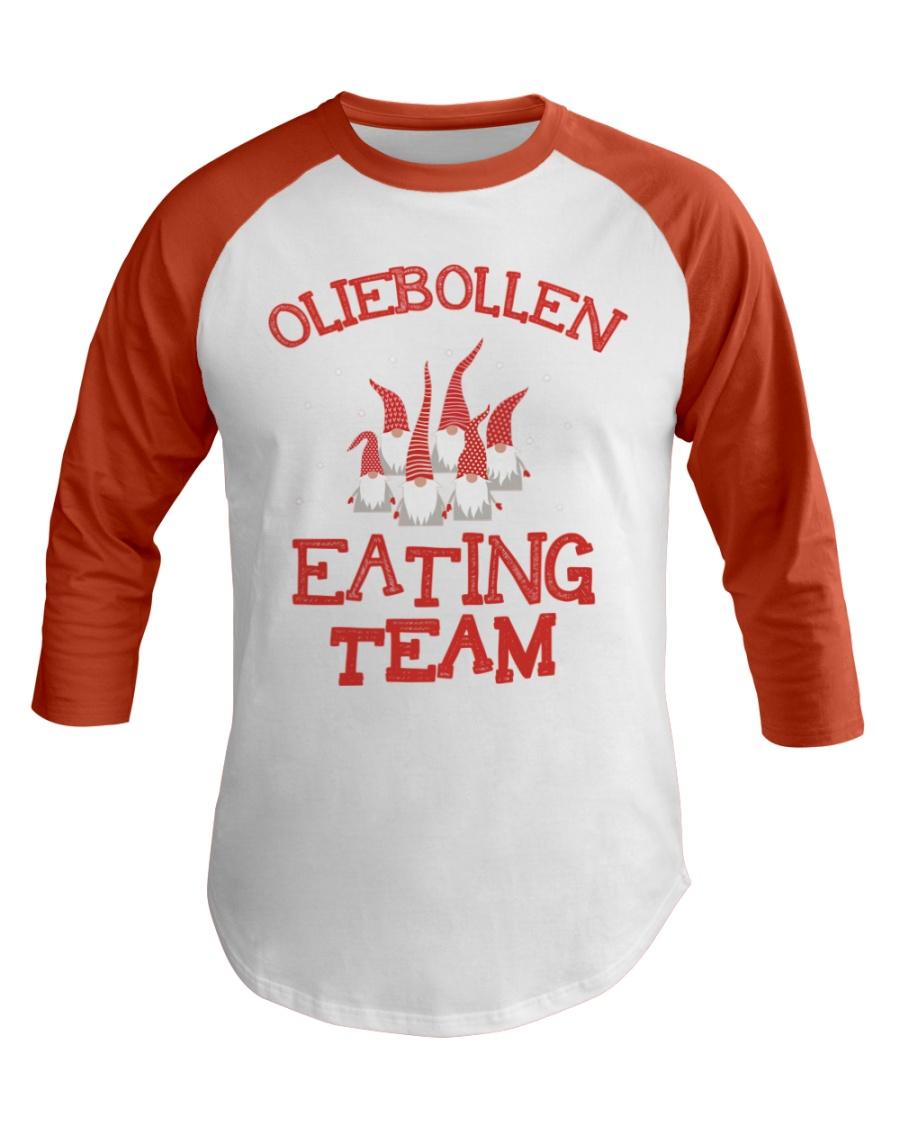 OLIEBOLLEN EATING TEAM Baseball Tee