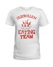 OLIEBOLLEN EATING TEAM Ladies T-Shirt thumbnail