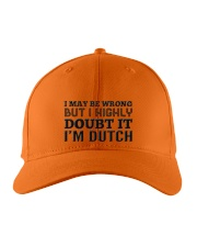 I'M DUTCH Embroidered Hat front