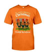 DUTCH CHRISTMAS Classic T-Shirt front