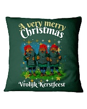DUTCH CHRISTMAS Square Pillowcase thumbnail