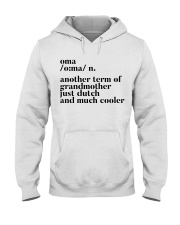 OMA ANOTHER TERM OF GRANDMOTHER JUST DUTCH Hooded Sweatshirt thumbnail