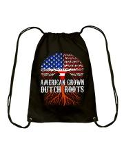 AMERICAN GROWN DUTCH ROOTS  Drawstring Bag thumbnail