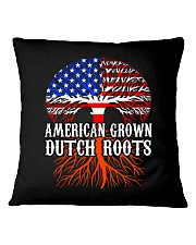 AMERICAN GROWN DUTCH ROOTS  Square Pillowcase thumbnail