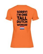 TALL DUTCH WOMAN Premium Fit Ladies Tee thumbnail