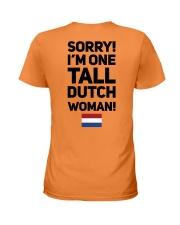 TALL DUTCH WOMAN Ladies T-Shirt thumbnail