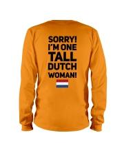 TALL DUTCH WOMAN Long Sleeve Tee thumbnail