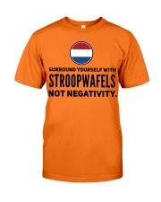 STROOPWAFELS FUNNY Classic T-Shirt front