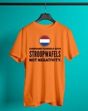 STROOPWAFELS FUNNY Classic T-Shirt lifestyle-mens-crewneck-front-3