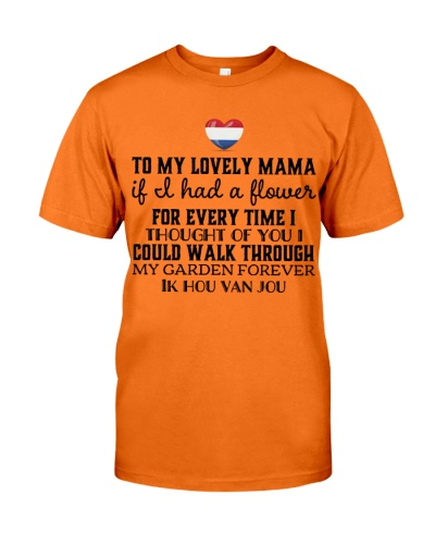 to my lovely mama