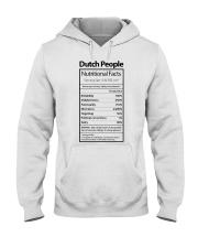 DUTCH PEOPLE NUTRITIONAL FACTS Hooded Sweatshirt thumbnail