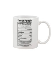 DUTCH PEOPLE NUTRITIONAL FACTS Mug thumbnail