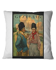 GEZELLIG IT'S A DUTCH THING YOU WOULDN'T UNDERSTA Square Pillowcase thumbnail