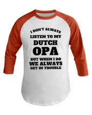 MY DUTCH OPA Baseball Tee thumbnail