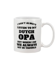 MY DUTCH OPA Mug thumbnail