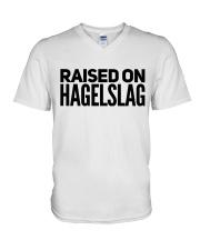 RAISED ON HAGELSLAG V-Neck T-Shirt thumbnail