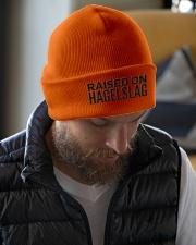 RAISED ON HAGELSLAG Knit Beanie garment-embroidery-beanie-lifestyle-06