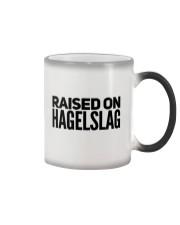 RAISED ON HAGELSLAG Color Changing Mug thumbnail