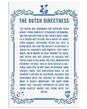 DUTCH DIRECTNESS 11x17 Poster front
