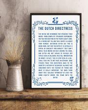 DUTCH DIRECTNESS 11x17 Poster lifestyle-poster-3
