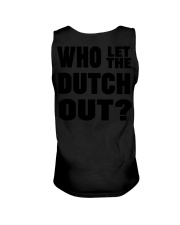 WHO LET THE DUTCH OUT Unisex Tank thumbnail