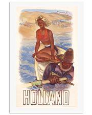 HOLLAND VINTAGE TRAVEL 1950 11x17 Poster front