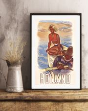 HOLLAND VINTAGE TRAVEL 1950 11x17 Poster lifestyle-poster-3