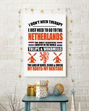 I DON'T NEED THERAPY  11x17 Poster lifestyle-holiday-poster-3