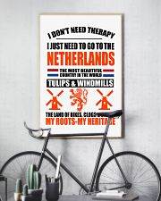I DON'T NEED THERAPY  11x17 Poster lifestyle-poster-7