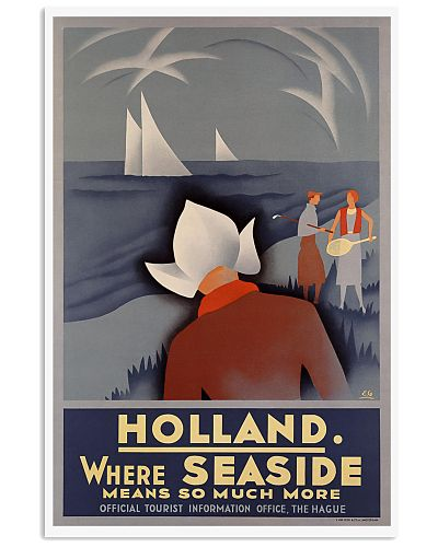HOLLAND VINTAGE TRAVEL POSTER