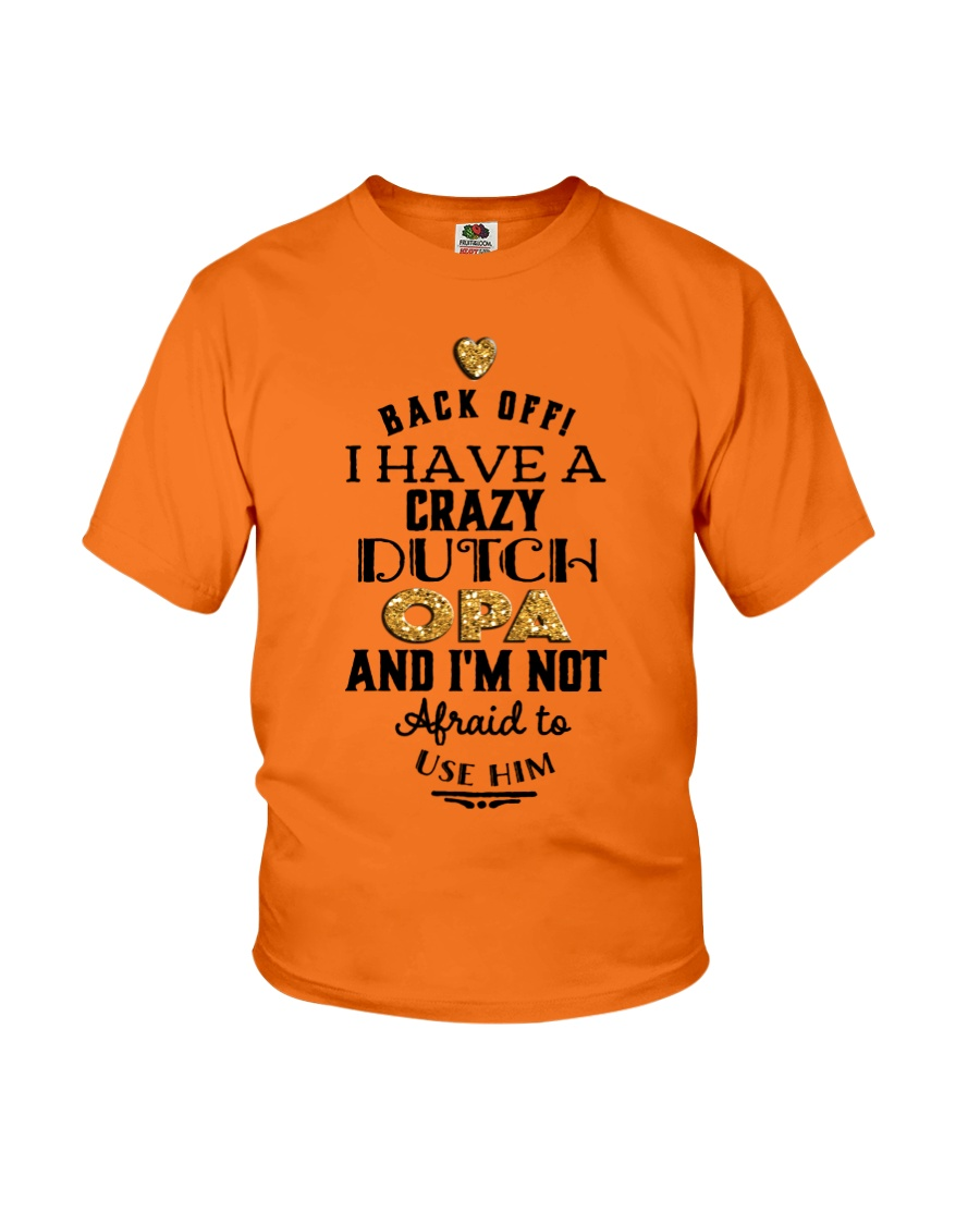 DUTCH OPA Youth T-Shirt