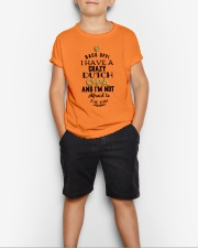 DUTCH OPA Youth T-Shirt lifestyle-youth-tshirt-front-1