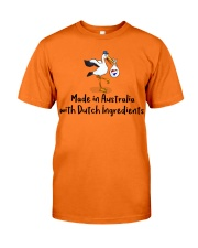 MADE IN AUSTRALIA DUTCH INGREDIENTS Classic T-Shirt front