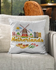 "THE NETHERLANDS Indoor Pillow - 16"" x 16"" aos-decorative-pillow-lifestyle-front-04"