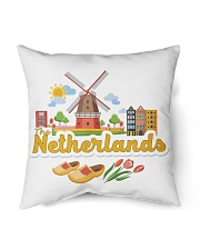 "THE NETHERLANDS Indoor Pillow - 16"" x 16"" front"