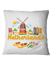 THE NETHERLANDS Square Pillowcase tile