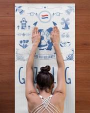 GEZELLIG TIME Yoga Mat 24x70 (vertical) aos-yoga-mat-lifestyle-23