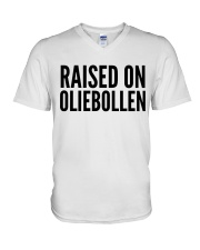 RAISED ON OLIEBOLLEN V-Neck T-Shirt thumbnail
