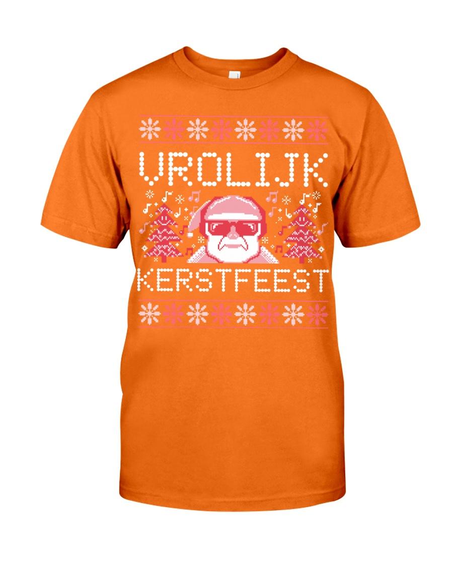 VROLIJK KERSTFEEST SANTA Classic T-Shirt